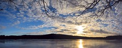 2017_0114Sunny-But-Cold-Pano0001 (maineman152 (Lou)) Tags: panorama west pond westpond lake frozen frozenover frozenlake ice icecovered icedoverpond icedover winter winterweather coldweather coldwinterweather cloudysky mackerelsky clouds sky wintersky nature naturephoto naturephotography landscape landscapephoto landscapephotography january maine