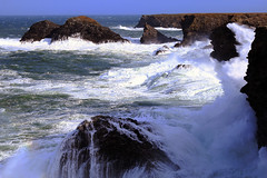 Wind and Waves (photofromangel) Tags: tempest island wind sea waves belle île en mer