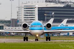KLM Cityhopper Fokker 70     PH-KZE     Amsterdam Schiphol - EHAM (Melvin Debono) Tags: klm cityhopper fokker 70   phkze amsterdam schiphol eham melvin debono spotting canon 7d 600d plane planes airport airplane aviation aircraft netherlands holland
