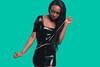 Rope (jazzyoki) Tags: headshots black blue dark dress fashion fineart girl hair jamaican model people portrait pose rope studio