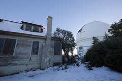 Backyard Scope (tourtrophy) Tags: abandonedhouse mthamilton lickobservatory astronomy telescope refractortelescope canoneos5dmark2 canonef1635mmf4lisusm house