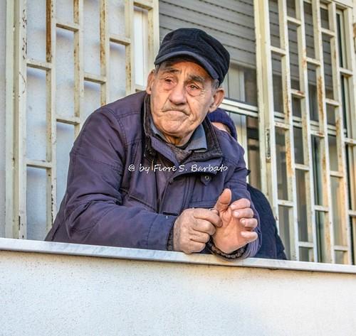 """Macerata Campania (CE), 2017, La sfilata delle """"battuglie e pastellesse""""."""