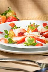 (Shutter Visual) Tags: publicidad alimentos producto postres comida ensaladas fresas flan pancakes verduras bodegon diseño luz foodstyling fotografia