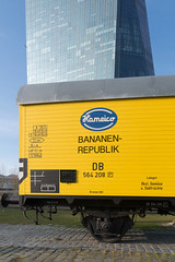 Bananrepublik (synecto) Tags: money european republic frankfurt central bank banana ecb ezb zentralbank europische bananenrepublik