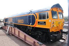 59003 West Somerset Railway (Paul Emma) Tags: uk railroad england train railway somerset locomotive minehead westsomersetrailway preservedrailway diesellocomotive dieseltrain class59 gbrf 59003