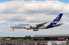 D3N_1103 (opnwong) Tags: england fly unitedkingdom flight airshow airbus a380 gb farnborough 2010 a380800 flyingdisplay