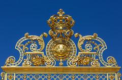Schloss Verailles Tor (Roman Achrainer) Tags: gold frankreich eingang tor schlossversailles