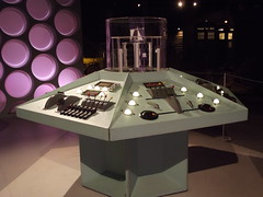 Doctor Who Experience - The Exhibition - 1st and 2nd Doctor's TARDIS console (ell brown) Tags: greatbritain southwales wales unitedkingdom cymru cardiff doctorwho bbc caerdydd tardis cardiffbay baecaerdydd southglamorgan theexhibition capitalofwales doctorwhoexperience tardisconsoleroom porthteigr bbcdoctorwhoexperience singlelargestcollectionofdoctorwhocostumessetsandprops heolporthteigr