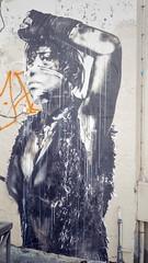 Guerrire (Juillet 2015) (Ostrevents) Tags: street woman streetart paris france art collage paper europa europe femme gloves warrior capitale rue mur papier wal stiker chn papierpeint artdelarue paperpaint artdanslarue guerrire ostrevents