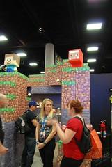 SDCC 2015 Mattel Minecraft 01 (IdleHandsBlog) Tags: toys videogames mattel minecraft sdcc2015 sandiegocomiccon2015
