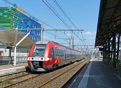 SNCF 27766+27602 te Perpignan (Allard Bezoen) Tags: station de gare z roussillon perpignan sncf cerbre bombardier ter 27500 27602 27766 langquedoc