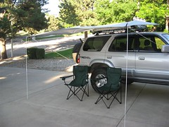 Shady Boy Awning on Toyota 4Runner 2