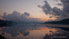 Morning mist (ScenicMotion) Tags: mist lake reflection norway fog sunrise timelapse jotunheimen tyin