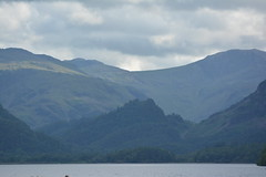 Towering Hills (Callum's Buses and Stuff) Tags: sun lake water hill lakedistrict hills derwentwater keswick