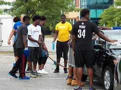 Blue Machine 101_0478 (AHummons Photography) Tags: blue school people chicago man black male men sports public car work football high community image secret young machine teenagers august wash together africanamerican lives positive athlete fundraiser simeon mentor teenage teammates 2015 structured aprilhummonsphotography
