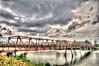 Punggol Bridge (clemontz) Tags: bridge metal landscape nikon singapore punggol d300