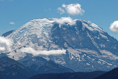 Mt Rainier Washington-   (Boxa8) Tags: sky mountain snow mountains nature clouds landscape mount explore mountrainier rainier mtrainier snowymountain
