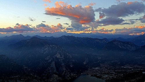 Sunset on the southern Rhaetian Alps