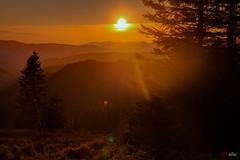 Sonnenuntergang am Feldberg 2