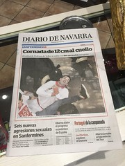 Newpaper the day after, Burlada!