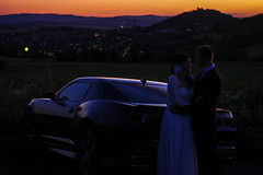 Just Married (woodoo@rocketmail.com) Tags: wedding challenger dodge germany