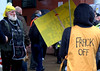 Anti-fracking campaigner Tina Louise Rothery's court case in Preston protest - 8 (Tony Worrall) Tags: preston court case frack fracking oil fuel lancashire candid people protest outside many crowd law cuadrilla drill drilling nanna battle crowncourt