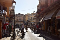 paths and roads (JoannaRB2009) Tags: path road street summer sunny hot people city town old historical building architecture tourists shop shops chania hania xania canea crete kriti kreta greece
