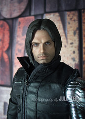 Civil War Winter Soldier MMS351 By Hot Toys (Culte De Paris) Tags: civil war winter soldier mms351 by hot toys sebastian stan bucky barnes assassin steve rogers captain america iron man avengers superhero action figure metal arm cosplay costume doll miniature movie marvel comics universe hydra shield agents natasha romanoff nick fury comic con 2017 exclusive infinity first avenger