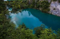 Lac bleu de Plitvice
