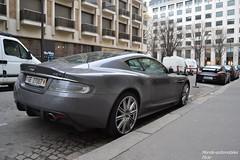 Aston Martin DBS & Porsche 911 GT2 997 (Monde-Auto Passion Photos) Tags: auto automobile porsche 911 gt3 997 aston martin astonmartin dbs coupé gris noir france pris supercar sportive