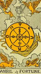 Wheel of Fortune (~ Lone Wadi ~) Tags: tarot tarotcards fortunetelling sorcery blackmagic occult retro 1910s magic