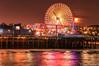 Santa Monica Pier (the_coolsniper) Tags: santamonica la reflections night beach pier