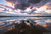 Hope (Christos Zoumides) Tags: longexposure sunset clouds waterscape photography sky seaside outdoor landscape shore rocks dramaticsky nature colour ndfilter larnaca cyprus saltlake mediterranean calmness tranquillity serenity reflections goldenhour bluehour nikon happynewyear