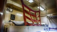 Safety (dougkuony) Tags: durham durhammuseum unionstation sleepingcar railroad railway bunk hdr