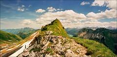 Some watch the top, some from the top (Katarina 2353) Tags: alps switzerland katarina2353 katarinastefanovic rocherdenaye