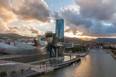Guggenheim Museum - Bilbao (photowarrington) Tags: bilbao spain spanish guggenheimmuseum guggenheim abstract view daylight interesting holiday europe city urban lightroom hdr cityscape
