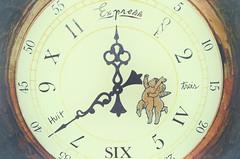 """The Secret Life of Clocks"" (Photography by Sharon Farrell) Tags: clock huit trois asburypark asburyparknewjersey ticktock 2017"