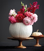 Pumpkin as Beautiful Centerpiece for Your Table (irecyclart) Tags: bouquet flower halloween pumpkin