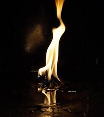 diyo (amit ghising) Tags: light reflection diyo ray oillamp flame