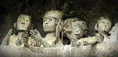 Tau Taus (Sacule) Tags: tautau tanatoraja lemo sulawesi effigy indonesia asia rantepao statue wood old abandoned decolores southeastasia canon powershot sx200is strange tradition tribe backpack travel viaje cave 2011