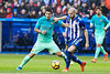 Match of La Liga between Deportivo Alaves and Futbol Club Barcelona at Mendizorroza Stadium (rodrigojimenezt) Tags: laliga alaves barcelona futbolclubbarcelona spain vitoria
