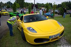 British Classic Welcome 2013 - Ferrari F430 (Deux-Chevrons.com) Tags: ferrarif430 ferrari430 ferrari f430 430 car coche voiture auto automobile automotive oldtimer 24hdumans 24hoflemans britishclassicwelcome vintage france lemans