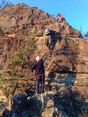 Lower chains on Carlon Head ([S u m m i t] s c a p e) Tags: australia bushwalking newsouthwales megalong narrowneckplateau ubmbc