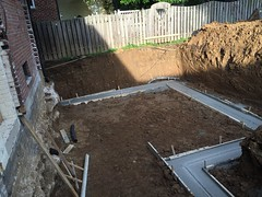 Day 12: Footings poured and passed inspection