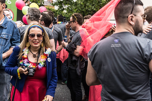 DUBLIN 2015 GAY PRIDE FESTIVAL [BEFORE THE ACTUAL PARADE] REF-106258