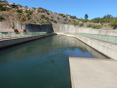 Lesotho Water flowing into South Africa (range commander) Tags: africa southafrica lesotho freestate drinkingwater 2015 ashriveroutfall lesothowaterhighlandsproject