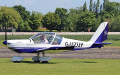 G-UZUP EV-97A TeamEurostar UK (PlanecrazyUK) Tags: fly in sturgate guzup 070615 egcv ev97ateameurostaruk