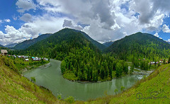 Neelam Pakistan (TARIQ HAMEED SULEMANI) Tags: travel pakistan summer tourism nature trekking canon river photography c butt kashmir tao neelam tariq supershot neelamriver concordians sulemani tariqhameedsulemani