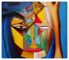 P i l m a i k e n (Felipe Smides) Tags: naturaleza mural vida resistencia ríos pintura mapuche golondrina muralismo smides felipesmides pilmaiken ríoslibres