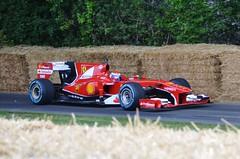 2010 Ferrari F1 F10 (stavioni) Tags: red sports car sport festival race speed one 1 gene f1 ferrari f10 marc formula motor fos scuderia goodwood motorsport 2010 racig